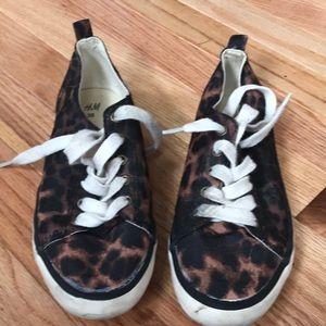 Leopard Sneakers Size 36